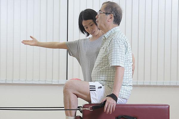 高齢者の方、運動経験がない方